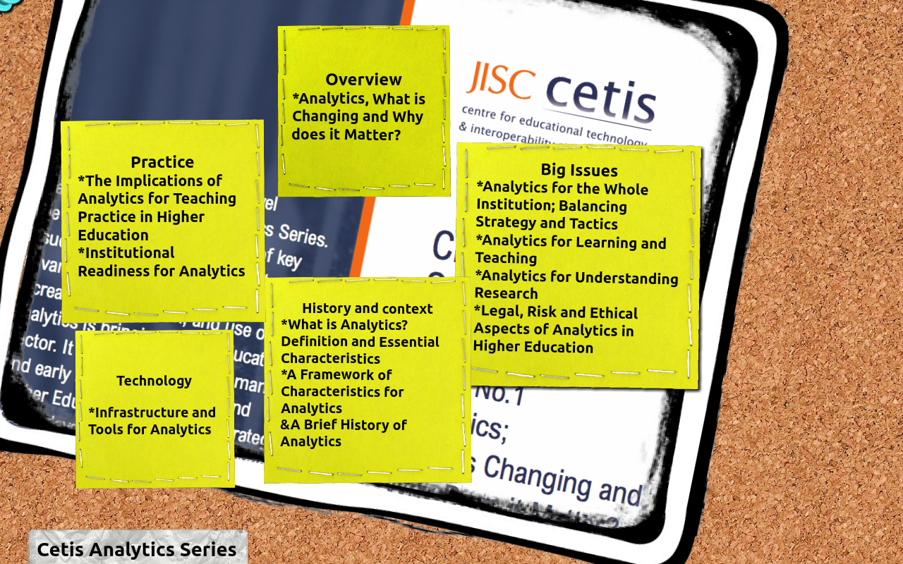Overview of the JISC CETIS Analytics Series