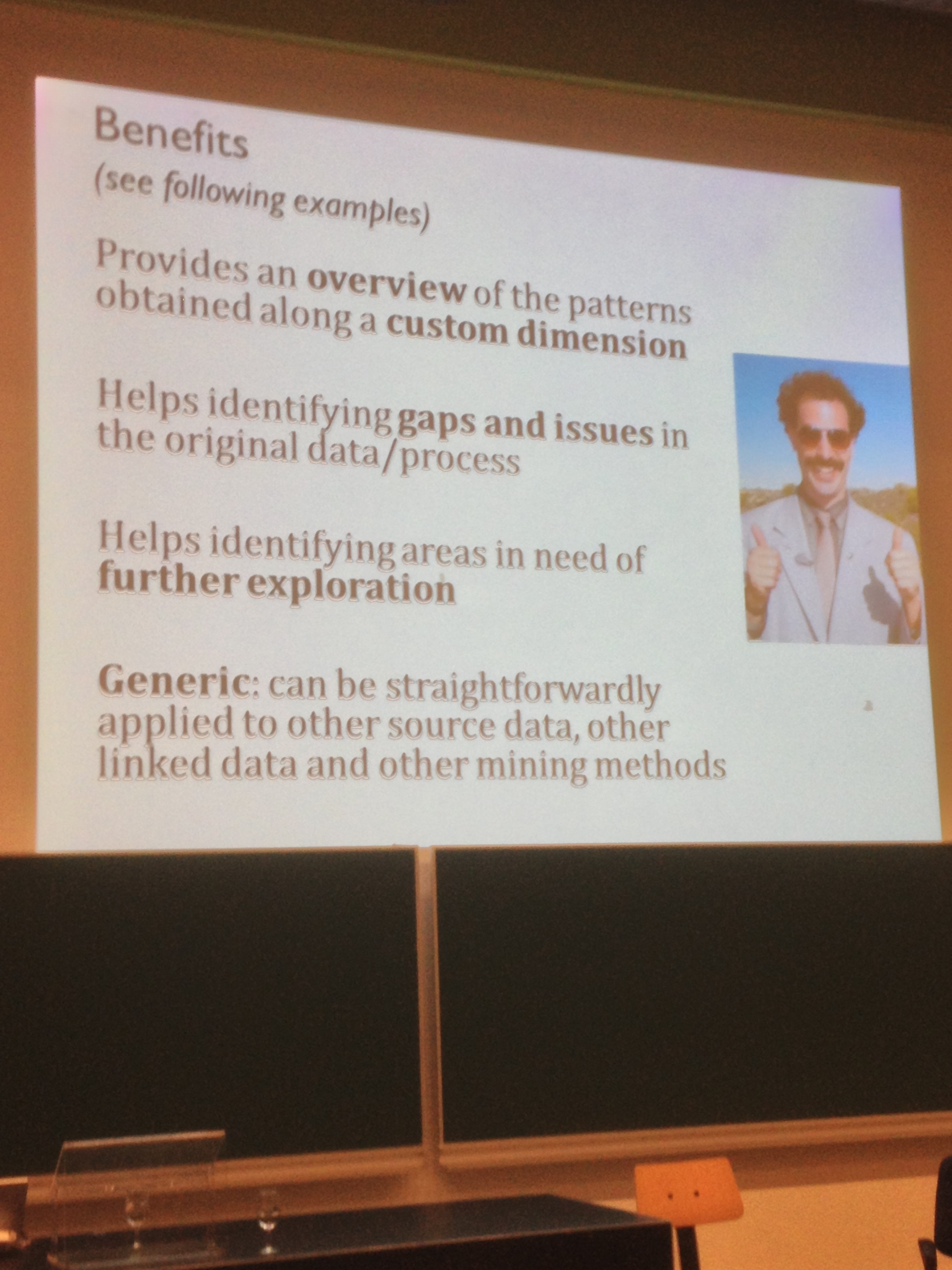 Benefits of linked data for analytics