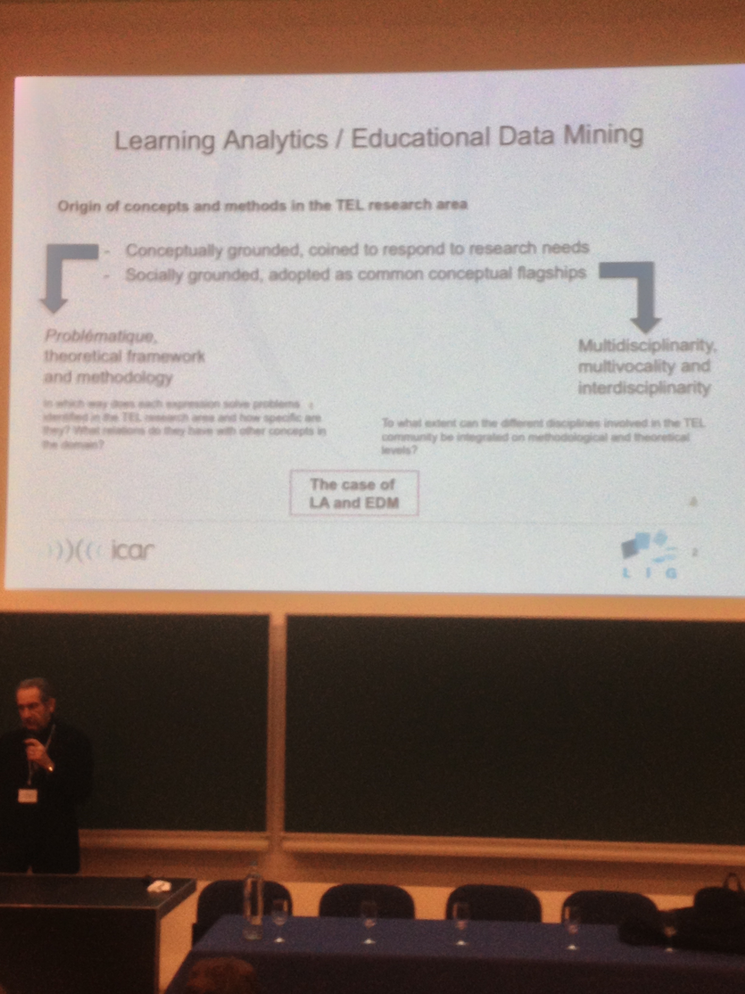 Learning Analytics vs Educational Data Mining